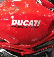 Aufkleber DUCATI Monster die Schriftzüge Monster 797-Tank