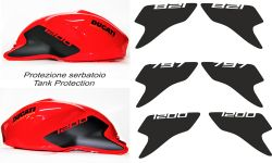 Stickers kit for tank protection Ducati Monster 797/821/1200