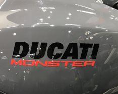 Aufkleber DUCATI Monster die Schriftzüge Monster 1200S -Tank Bj 2017