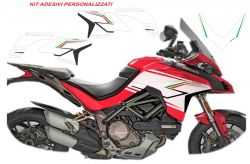 Stickers for Multistrada 1260 design speciale tricolore