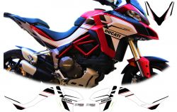 Stickers for Ducati Multistrada 1260 design personalized