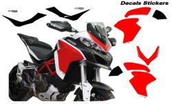 Stickers for Multistrada 1260 design Pikes Peak 2018 personalized