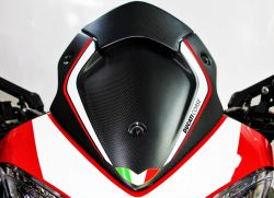 Stickers in white Ducati corse for windshield Multistrada 950/1200 Enduro/1260