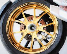 Aufkleber Felgenrand für Ducati Multistrada