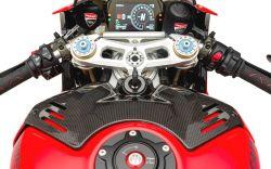 1 Bremsflüssigkeitsbehälter Schutzhülle klein HINTEN oder KUPPLUNG Ducati Corse