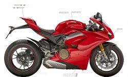 Aufkleber - Set für Ducati Panigale V4S