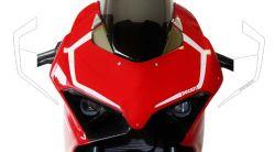 Aufkleber Decor für Vorderseite Ducati Panigale V4, V4S, V4R and V2 2020