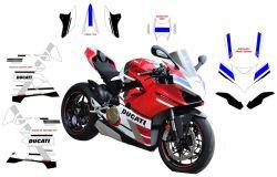 Aufklebersatz Ducati Panigale V4 MotoGp Design
