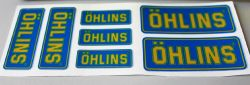 7 Stickers OHLINS