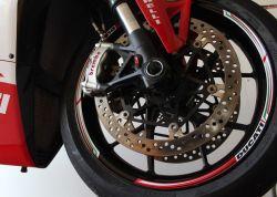 Aufkleber Felgenrand Ducati corse für 2 Felgen, Ducati Panigale V4 - V2