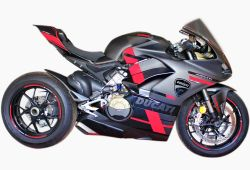Stickers set special red-black Ducati Panigale V4-S