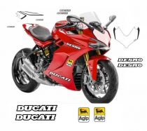 Sticker kit number plate for Ducati Supersport 939