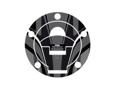 Radikal Fuel Cap Covers in grey/black