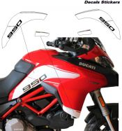 Side panels' stickers - Ducati Multistrada 950 MY 2019