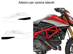 Side Fairings Decals Stickers Ducati Hypemotard 950 SP - Ducati Hypermotard 950