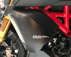 Sticker 3D shield DIAVEL 1260 / 1260S 2019