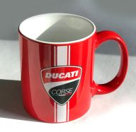 Coffee cup DUCATI CORSE red