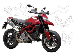 AVERY supreme protection film - Ducati Hypermotard 950