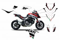 Complete stickers kit Sport Version - Ducati Multistrada 1260