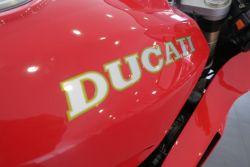 Aufkleber Ducati Schriftzug Tank 250x28mm für Ducati 888