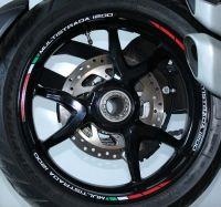 Aufkleber Felgenrand Ducati Satz Streifen für Ducati Multistrada 1200 / 1200 S / 1260 / 1260 S