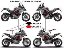 Aufkleber 950S für Ducati Multistrada 950 S Bj 2019
