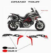 Aufkleber 1260S Grand Tour Design für Ducati Multistrada 1260 S