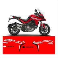 Aufkleber auf der Verkleidung Grand Tour Design - Ducati Multistrada 1260