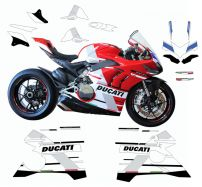 Stickers kit S Corse replica - For Ducati Panigale V4 / 899 / 1199 / 959 / 1299