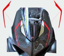 Aufkleber - Set Streifen für Ducati Panigale V4 / V2 2020