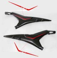Aufkleber - Set Streifen für Heckrahmenabdeckung - Ducati Panigale V4 / Streetfighter V4