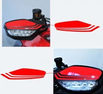 Handguards stickers - Ducati Multistrada / Hypermotard 950