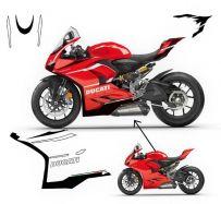 Aufklebersatz Superleggeras design - Ducati Panigale V2 2020