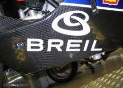 Aufkleber Breil mit Logo 200 x 100mm Stückpreis