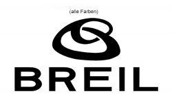 Aufkleber Breil mit Logo 120mm x 63mm Stückpreis