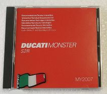 Werkstatthandbuch-CD Monster S2R 800 2006/07