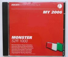 Interactive Technical Documentation CD for Monster S2R 1000 MY. 2006.