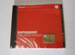 Werkstatthandbuch auf CD für 749/749S