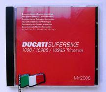 Werkstatthandbuch-CD 1098 + 1098S Bj 2007-2008