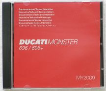 Interactive Technical Documentation CD for Monster 696 ab 2008