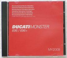 Werkstatthandbuch-CD Monster 696 ab 2008