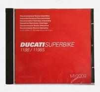 Werkstatthandbuch-CD 1198 + 1198S 2009-