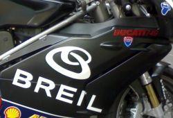 Aufkleber Breil mit Logo 23800mm x 125mm Stückpreis
