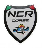 Aufkleber NCR corse Weiß