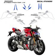Complete stickers' kit, specific for Ducati Streetfighter V4