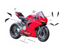 Stickers' kit black - Ducati Panigale V2 2020