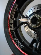 Decal Sticker Ducati Corse rim 370x34mm