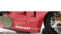 Decals Stickers Ducati corse 327x34mm for Ducati panels Pair