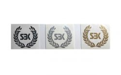 Decal Sticker SBK wreath 35x35mm price for 1 Pcs