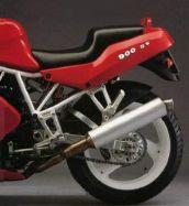 Aufkleber 600 ss / 750 ss / 900 ss für Heck Ducati